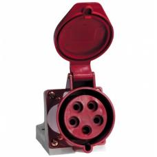 როზეტი 3P+PE+N 16А 380V IP44 EKF ps-115-16-380