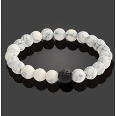 ხელის სამაჯური White & Black Lava
